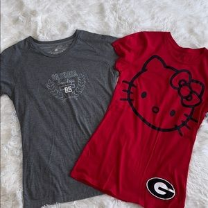 Bundle of University of Georgia Tees